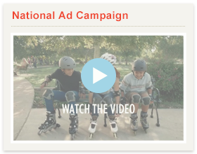 Watch our ads