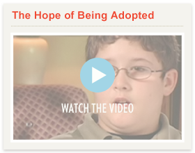 Watch Video: The Hope of Being Adopted
