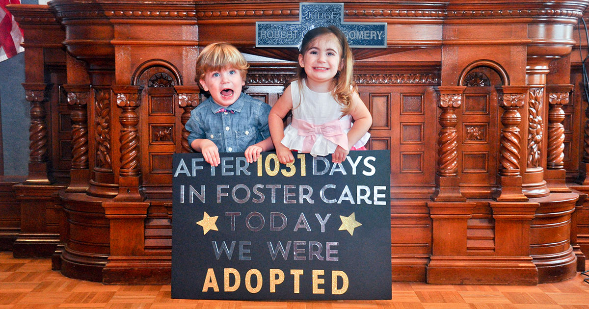 how to show foster family you care