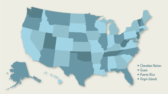 State Information AdoptUSKids - Foster care map us