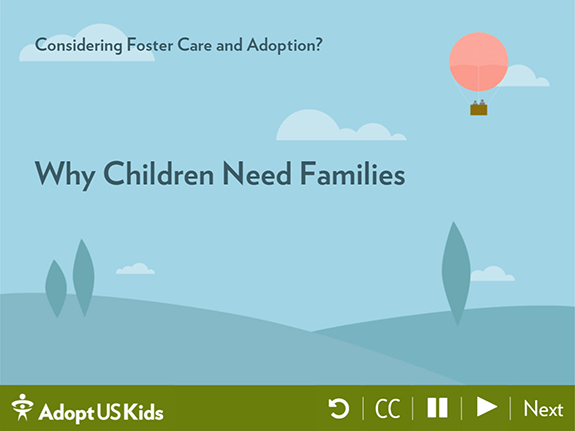Title page image for Why Children Need Families
