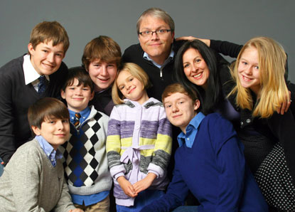 The Gilmore family