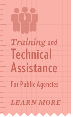 Find out about our free training and technical assistance for child welfare agencies.
