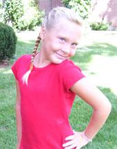 Olivia - Female, age 9